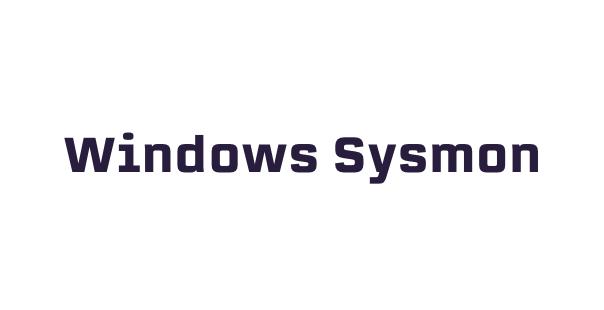 Gravwell-Kits-Windows Sysmon