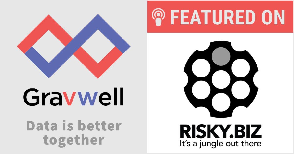 Gravwell featured on Risky.biz podcast